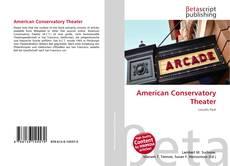 Capa do livro de American Conservatory Theater