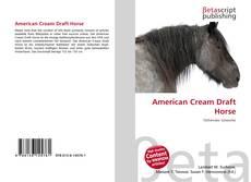 Обложка American Cream Draft Horse