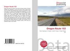 Couverture de Oregon Route 103
