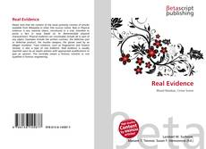 Bookcover of Real Evidence