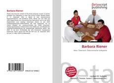 Buchcover von Barbara Riener