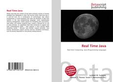 Bookcover of Real Time Java