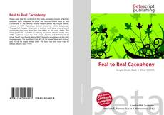 Bookcover of Real to Real Cacophony