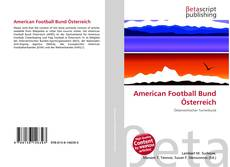 American Football Bund Österreich的封面