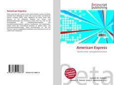 Borítókép a  American Express - hoz