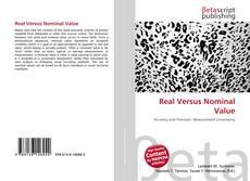 Real Versus Nominal Value kitap kapağı