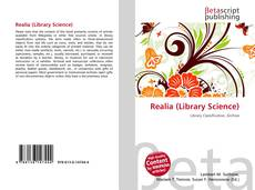 Bookcover of Realia (Library Science)