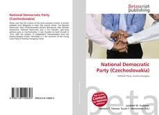Copertina di National Democratic Party (Czechoslovakia)