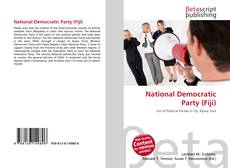 Bookcover of National Democratic Party (Fiji)