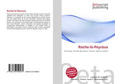 Bookcover of Roche-le-Peyroux