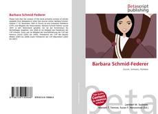 Portada del libro de Barbara Schmid-Federer