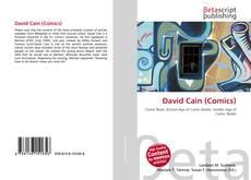 Buchcover von David Cain (Comics)