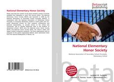Bookcover of National Elementary Honor Society