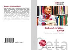 Buchcover von Barbara Schneider-Kempf