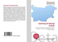 Обложка Uprising of Georgi Voiteh