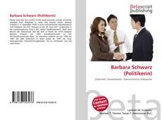Bookcover of Barbara Schwarz (Politikerin)
