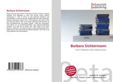 Buchcover von Barbara Sichtermann