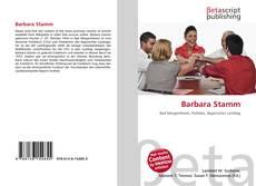 Barbara Stamm kitap kapağı