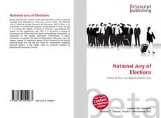 Bookcover of National Jury of Elections