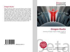 Capa do livro de Oregon Ducks