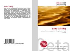 Bookcover of Sand Casting