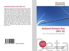 Bookcover of National Division One 2001–02