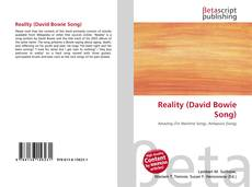 Copertina di Reality (David Bowie Song)