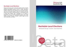 Bookcover of Rochdale Local Elections