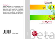 Capa do livro de Reality Film