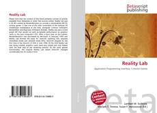 Bookcover of Reality Lab
