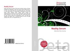 Capa do livro de Reality Serum