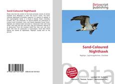Bookcover of Sand-Coloured Nighthawk