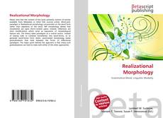 Bookcover of Realizational Morphology