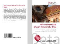 Copertina di Allen Temple AME Church (Cincinnati, Ohio)