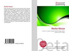 Capa do livro de Rocha House