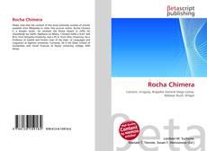 Capa do livro de Rocha Chimera