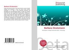 Capa do livro de Barbara Stratzmann