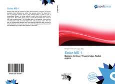 Buchcover von Solar MS-1