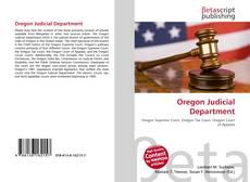 Portada del libro de Oregon Judicial Department