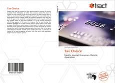Buchcover von Tax Choice