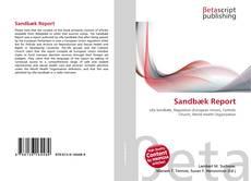 Buchcover von Sandbæk Report