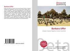Bookcover of Barbara Uffer