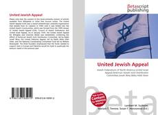 Bookcover of United Jewish Appeal