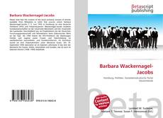 Bookcover of Barbara Wackernagel-Jacobs