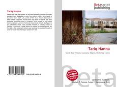Bookcover of Tariq Hanna