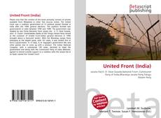 Обложка United Front (India)