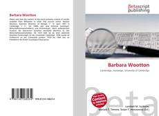 Bookcover of Barbara Wootton