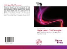Buchcover von High Speed Civil Transport