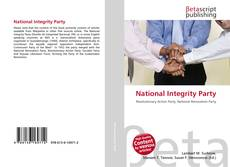 Bookcover of National Integrity Party