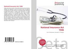 Bookcover of National Insurance Act 1946